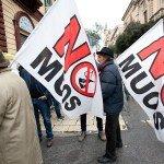 sit-in NO MUOS in prefettura a Ragusa