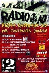 NO MUOS on tour – festa radio Aut – Palermo