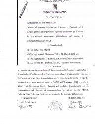 Il testo della delibera per l'avvio del procedimento di revoca delle autorizzazioni del MUOS