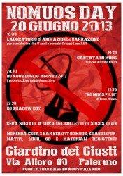 NoMuos Day – Palermo 28 giugno