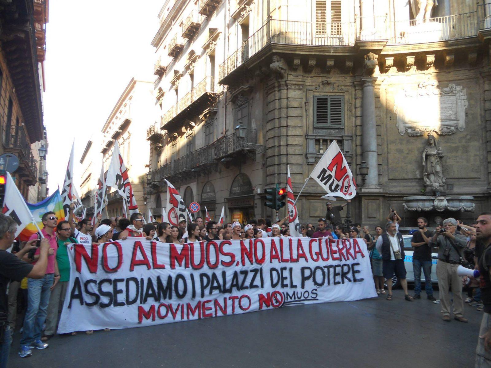 Manifestazione No MUOS 28 settembre 2013 Palermo: pensieri a caldo e disordinati