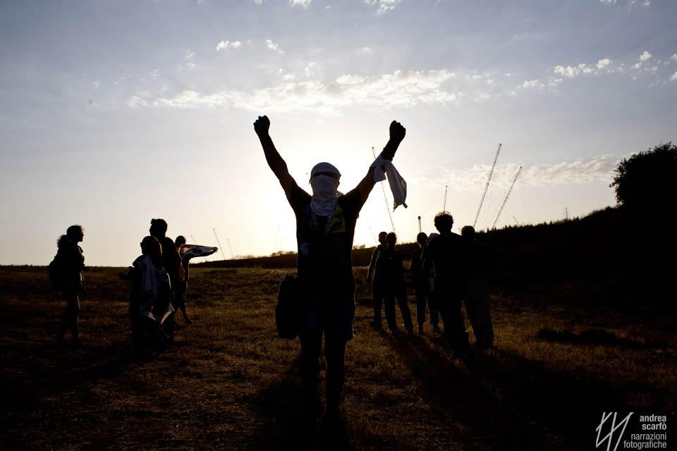 I° Giro NO MUOS, un messaggio denso di significati lungo 100 Km.