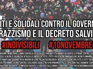 manifestazione 10 novembre