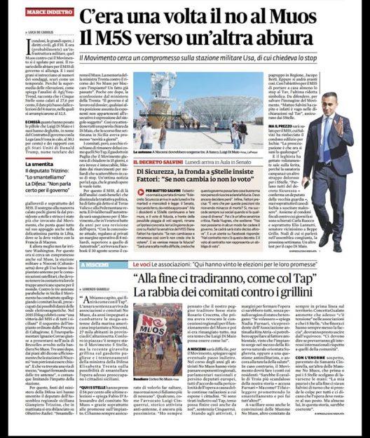 Diario di Bordo // 1 Novembre 2018