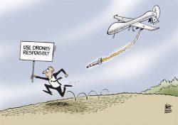 conferenza internazionale su droni armati a Sigonella