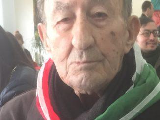 Partigiano Bennici, anpi, ultimo Partigiano di Niscemi