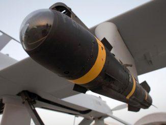 missile hellfire montato su drone reaper mq9 che ha ucciso il generale iraniano Soleimani